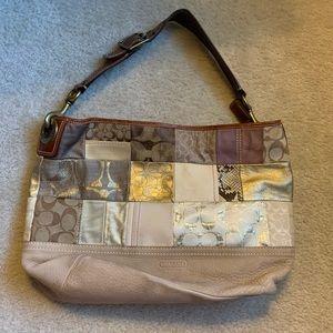 Original patchwork Coach purse